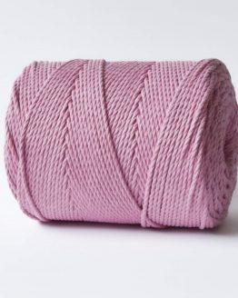 3 mm macrame touw lovely rosa katoen koord 3-ply