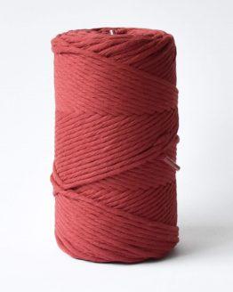 3 mm macrame touw carmine red katoen koord 3-ply