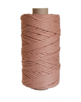 creadoodle premium collection macrame weaving 5 mm antique blush koord cord 1-ply
