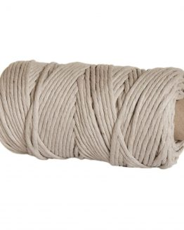 creadoodle premium collection macrame weaving 5 mm linen cord koord 1-ply