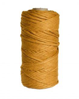 creadoodle premium collection macrame weaving 5 mm mustard cord koord 1-ply