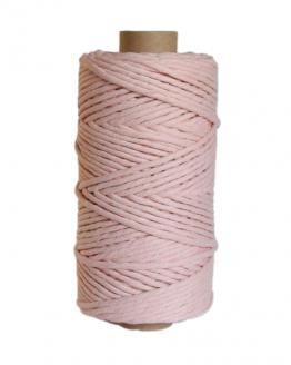 creadoodle premium collection macrame weaving 5 mm peach cord koord 1-ply