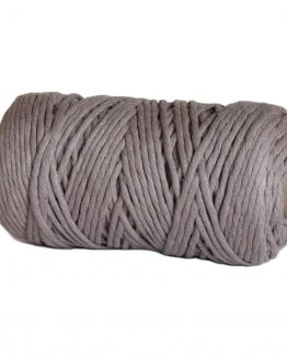 creadoodle premium collection macrame weaving 5 mm taupe cord koord 1-ply