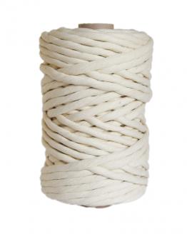 creadoodle premium 8 mm single twist string macrame touw koord rope natural