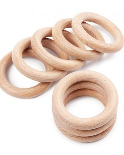 houten ring planthanger teether