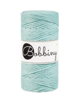 bobbiny 3 mm macrame 1-ply mint