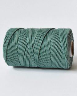 3 mm macrame katoen touw 3-ply sage lake