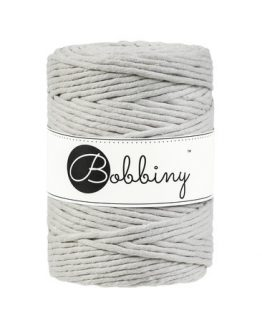 Bobbiny 5 mm beige string single stand 1-ply