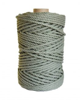 creadoodle premium collection macrame weaving 5 sage touw rope 3-ply