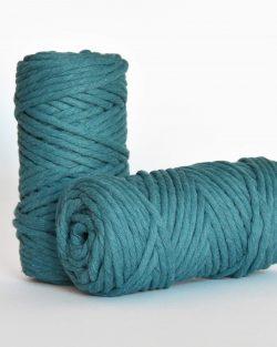 5 mm macrame weaving string oekotex cotton katoen koord peacock