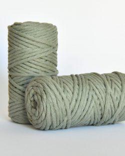 5 mm macrame weaving string oekotex cotton katoen koord sage