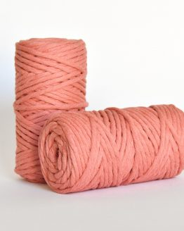 5 mm macrame weaving string oekotex cotton katoen koord sunset