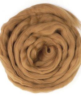 creadoodle roving Wool 816 fox Lontwol