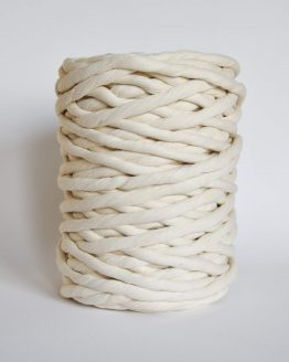 creadoodle luxe 12 mm single twist string macrame touw koord rope natural