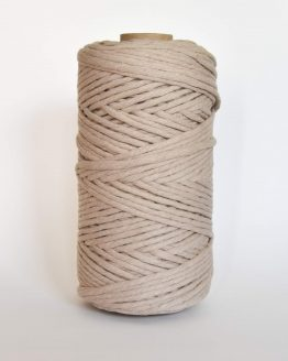 creadoodle luxe collection macrame weaving 5 mm koord 1-ply cord linen