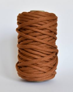 creadoodle macrame weaving cotton cord 9 mm chunky cotton string weven katoen koord XL caramel