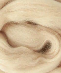 creadoodle wool roving lontwol nude 763 salmon zalm