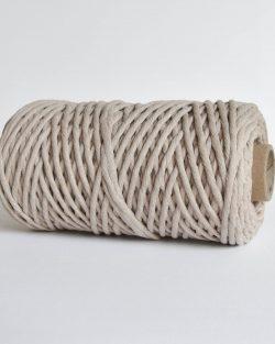 creadoodle macrame weaving cotton cord 5 mm super soft high quality cotton string weven katoen koord beige