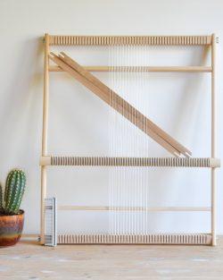 creadoodle XXL weaving loom, weefraam