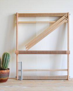 creadoodle XL weaving loom, weefraam
