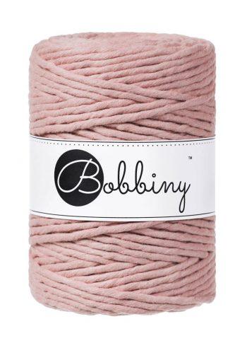 creadoodle bobbiny collection 5 mm macrame weaving string blush