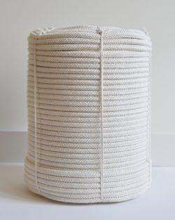 creadoodle basic collection 10 mm braided rope gevlochten touw natural macrame weaving rainbow regenbogen sold by the meter