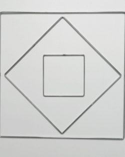 Creadoodle metal rings squares frames metalen vierkanten macrame weven