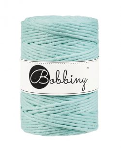 creadoodle bobbiny collection 5 mm macrame weaving string mint
