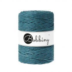 creadoodle bobbiny collection 5 mm macrame weaving string peacock