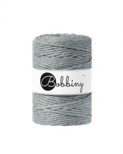creadoodle bobbiny collection 5 mm macrame weaving string steel