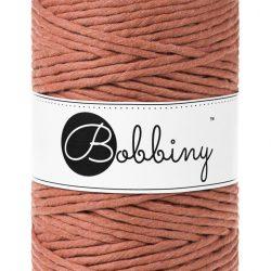 creadoodle bobbiny collection 5 mm macrame weaving string terracotta