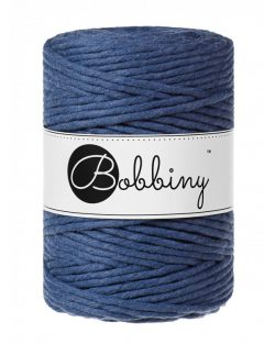 creadoodle bobbiny collection 5 mm macrame weaving string jeans