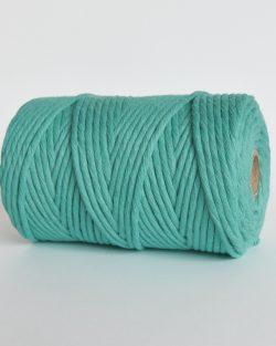 creadoodle lush collection 5 mm single strand oekotex cotton katoen koord macrame, weaving cord coastal cabana