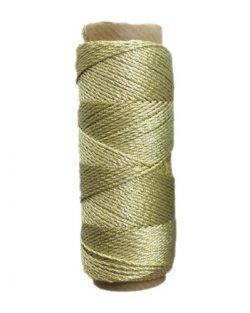 creadoodle metallic goud draad lurex 3-ply twisted