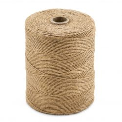 jute 2.5 mm 1 kilo Very nice for projects outside, used for weaving, macrame and other hobby. But also good for gardening etc