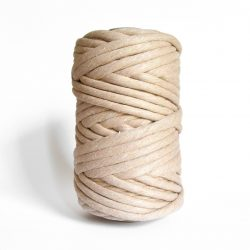 creadoodle macrame weaving cotton cord 9 mm super soft high quality chunky cotton string weven katoen koord sahara dust