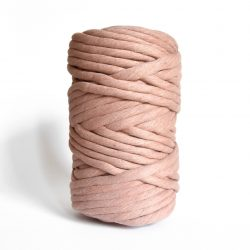 creadoodle macrame weaving cotton cord 9 mm super soft high quality chunky cotton string weven katoen koord terra pink