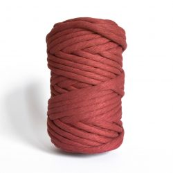 creadoodle macrame weaving cotton cord 9 mm super soft high quality chunky cotton string weven katoen koord red earth