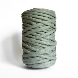 creadoodle macrame weaving cotton cord 9 mm super soft high quality chunky cotton string weven katoen koord sage