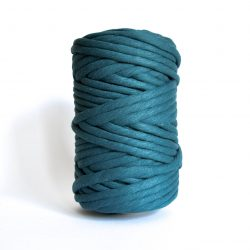 creadoodle macrame weaving cotton cord 9 mm super soft high quality chunky cotton string weven katoen koord deep sea