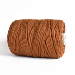 creadoodle macrame weaving cotton cord 5 mm super soft high quality cotton string weven katoen koord caramel