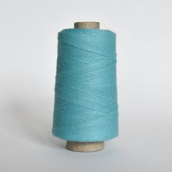 Creadoodle combed cotton collection 1 mm of the highest quality cotton for macrame, weaving, crochet, needle punch, embroidery, super kwaliteit katoen koord 30 colours available turquoise