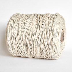 creadoodle luxe rope katoen touw 4 mm 3-ply twisted cotton natural raw for macrame weven hobby creatief