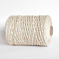 creadoodle luxe rope katoen touw 3 mm 2-ply twisted cotton natural raw for macrame weven hobby creatief