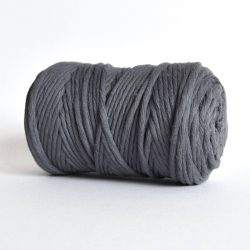 creadoodle luxe collection cotton string for macrame, weaving, crochet, knitting, needle punch and more 5 mm 1-ply urban obsession