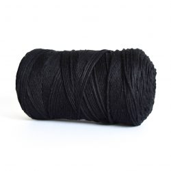 creadoodle macrame weaving cotton cord 1.5 mm super soft high quality cotton string weven katoen koord warp zwart black