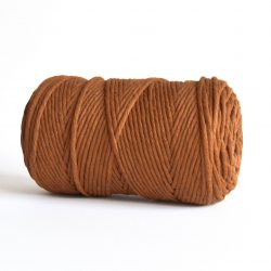 creadoodle macrame weaving cotton cord 3 mm super soft high quality cotton string weven katoen koord caramel