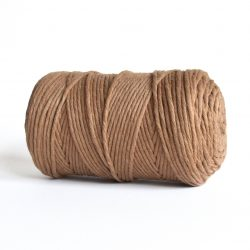 creadoodle macrame weaving cotton cord 3 mm super soft high quality cotton string weven katoen koord mocha