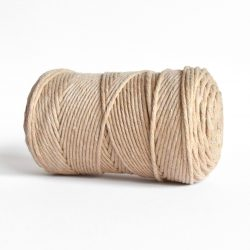 creadoodle macrame weaving cotton cord 3 mm super soft high quality cotton string weven katoen koord sahara dust