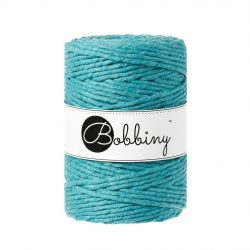 creadoodle macrame weven haken bobbiny mm string 5 mm teal